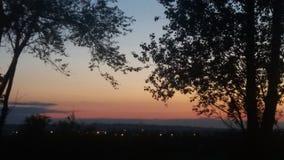 sunsets Photo stock