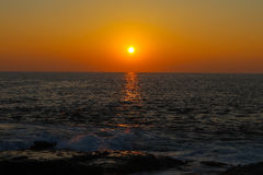 sunsets Стоковые Фотографии RF