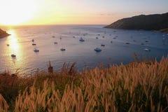 sunsets Стоковые Изображения RF