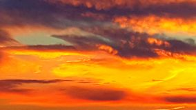 Sunsets. Evening sunset colors Royalty Free Stock Image