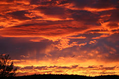 Sunsets Kingman AZ Stock Image