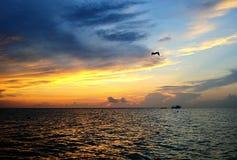 Sunsets niet wordt meer prettier dan dit royalty-vrije stock foto