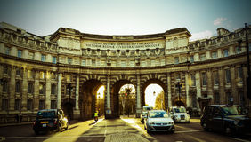 Sunsets Over Admiralty Arch Stock Photo