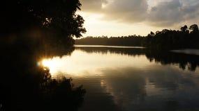 Sunsets - Reservoir 02 Stock Images