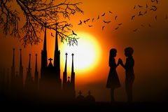 Sunsets Stock Image