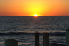 Sunsetting in California-Book Cover Stock Photos