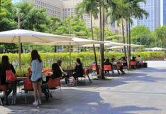 Sunshade στη Ταϊπέι 101 περιοχή αγορών Στοκ Εικόνα