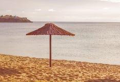 Sunshade On The Beach Royalty Free Stock Photography