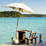 Sunshade at Kohkood Thailand Stock Image