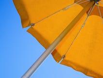 Sunshade slanting Royalty Free Stock Image