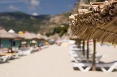 The sunshade umbrella Royalty Free Stock Photography