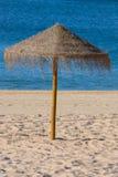 sunshades słomiany widok Obraz Stock