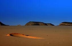 Sunshine. Sushine in the desert - abu simbel - africa stock photo