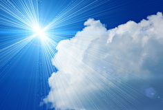 Sunshine Royalty Free Stock Photography
