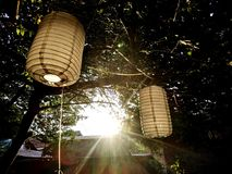 Sunshine afternoon stock image