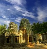 Sunshine of Angkor-4 Stock Image