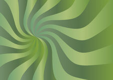 Sunshine background. Big green sunshine abstract background royalty free illustration
