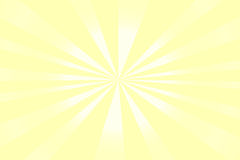 Sunshine background, yellow with white stripes Royalty Free Stock Photography