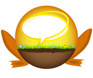 Sunshine ball chatting Stock Images