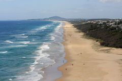 Sunshine Beach Queensland. Holidaying in Sunshine Beach Queensland Australia royalty free stock image