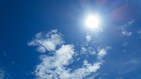 Sunshine and blue sky Stock Photography