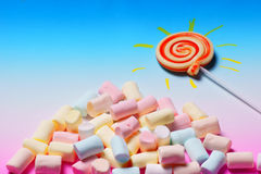 Sunshine candy Royalty Free Stock Photo