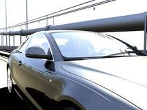 Sunshine car Royalty Free Stock Images