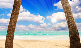 Sunshine in the Caribbean. Stock Photography