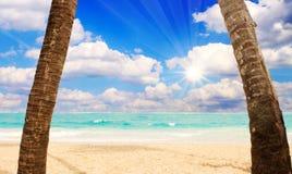Sunshine in the Caribbean. Stock Photography