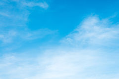 Free Sunshine Clouds Sky During Morning Background. Blue,white Pastel Heaven,soft Focus Lens Flare Sunlight. Royalty Free Stock Images - 99006189