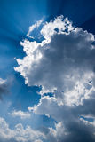 Sunshine through Clouds Royalty Free Stock Image