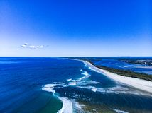 Sunshine Coast in Queensland royalty free stock images