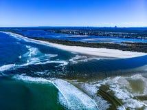 Sunshine Coast in Queensland royalty free stock photo