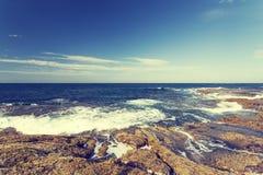 Sunshine Coast Queensland coastline Stock Photo