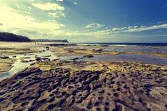 Sunshine Coast Queensland coastline Royalty Free Stock Image