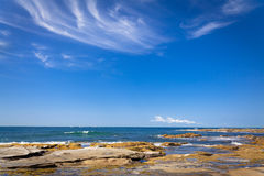Sunshine Coast Queensland coastline Royalty Free Stock Image