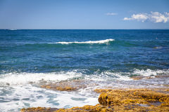 Sunshine Coast Queensland coastline Royalty Free Stock Photo