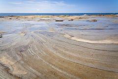 Sunshine Coast Queensland coastline Royalty Free Stock Photography