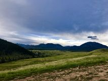 Beautiful day in Colorado mountains Royalty Free Stock Photography