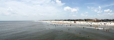 Sunshine Florida beach. In the summer time royalty free stock image