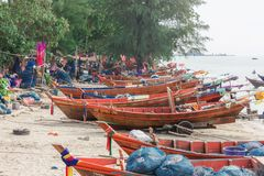 Fishing Boat in Thailand. Fishing Boat in Rayong Thailand Stock Photography