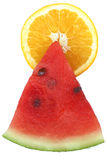Sunshine fruit pyramid Stock Image