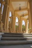 Sunshine in greek rotonda Royalty Free Stock Photos