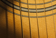 Sunshine on the guitar Royalty Free Stock Photography