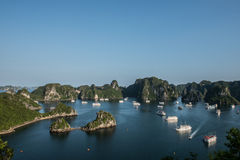 Sunshine on Ha Long Bay Royalty Free Stock Images