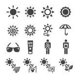 sunshine icon set