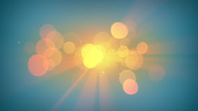 Sunshine and lens flares abstract background. Sunshine and lens flares. Computer generated abstract background Stock Image