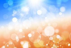 Sunshine Lights Royalty Free Stock Image