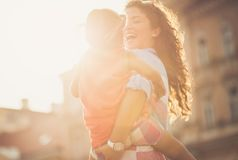 Sunshine in my life. royalty free stock photos