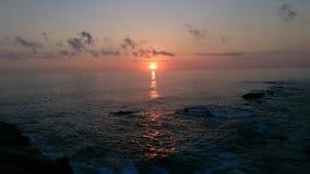 Sunshine on the ocean Stock Image